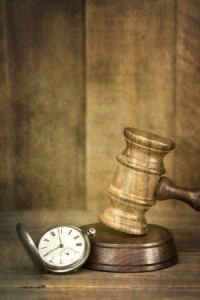 Gavel, sound block and time image (how long does a medical negligence case take)