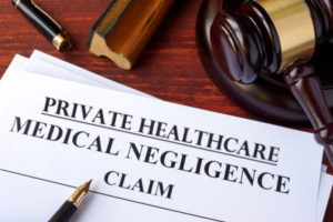 Private healthcare medical negligence claim
